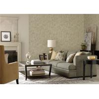 Home Decoration Simple Plain Wallpaper Waterproof With Light Brown Color
