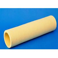 China 10mm Thickness Industrial Felt Fabric Yellow Felt Roll Precision Machining Size on sale