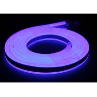 Buy cheap Double Sides Lighting LED Neon Flex Rope Light 12V Input LED Neon Rope Light waterproof Blue light from wholesalers