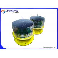 Red Yellow Airfield Solar Runway Edge Lighting with Recyclable Batteries