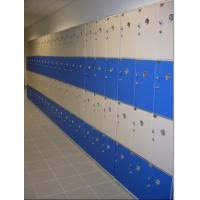 China PVC Material Blue School Lockers Durable Four Tier Lockers For Swimming Pool wholesale