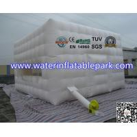 White 4x4M Inflatable Portable Inflatable Camping Tent For Outdoor Event
