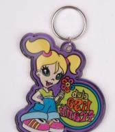 Quality Plastic Keychain for sale