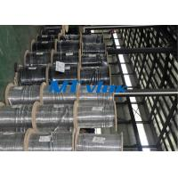 China Seamless ASTM A269 TP316L / 304L stainless steel coil tube ISO 9001 & PED & AD2000 on sale