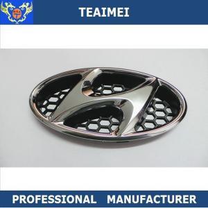 China Hyundai Car Badge Logos Car Badges And Names 170*85mm Black Fast wholesale