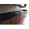 China High Hardness Preformed Kitchen Countertops Black Galaxy Quartz Stone wholesale