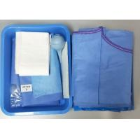 China Caesarean Section Surgical Procedure Packs One time  PE Film Hospital Medical Supply on sale