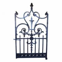 Buy cheap Cast Ornamental Iron Parts Residential Decorative Gates Archives And Railings from wholesalers