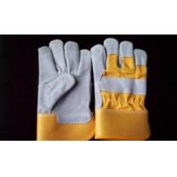 China Cow split leather working gloves wholesale
