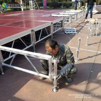 China Manufacturer Professional Custom SGS TVU Certified Aluminum Stage,Concert Stage,Event Stage Equipment on sale