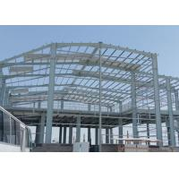 China Two Story Steel Building Construction , Lightweight Steel Storage Building Kits wholesale