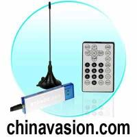 China DVB-T Digital TV Tuner for Computers - USB Dongle + Antenna wholesale