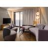 China Hardwood frame Home Living Room Furniture , Fabric Upholstery Hotel Sofa Set wholesale