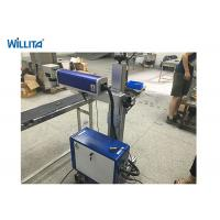 China 20W Wisely Portable Fiber Laser Marking Machine With Ezcad wholesale
