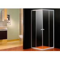 EN12150 Approval 4mm Glass Corner Shower Enclosure Square With Shower Tray
