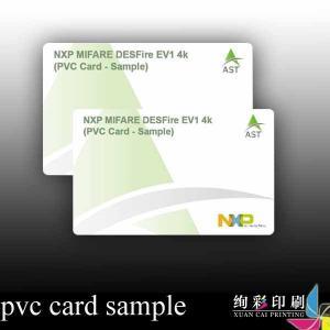 China Silk Screen Printed PVC Business Cards / Retail Store Membership Cards wholesale