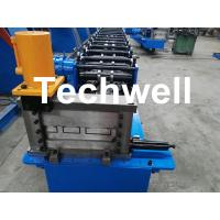 Buy cheap Interchangeable C Channel Roll Forming Machine for Making 3 kinds of C Purlin Profile from wholesalers