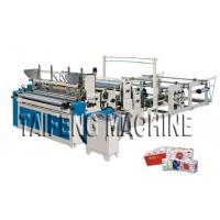 China Automatic high speed toilet paper embossed rewinding bathroom tissue making machine wholesale