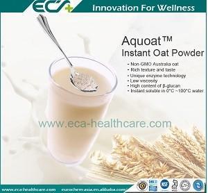 China Zero- added,GREAT Taste ; Instant Oat Powder, Premium Health Supplements, Low viscosity,  Natural origin on sale