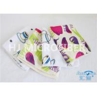 China Durable Printed Terry Microfiber Bath Towels For Camping / Floral Bath Towel wholesale
