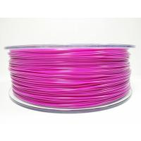 Purple / Yellow ABS 3D Printer Filament 1.75mm + / -0.03mm Tolerance Stable