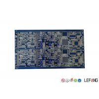Buy cheap Electronics Automotive Circuit Board , Immersion Gold Fr4 Copper Clad Circuit Board from wholesalers
