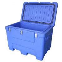 China 250Litre Heavy Duty Forkliftable Blue Dry Ice Storage Container wholesale