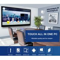 China 55 65 75 86 Inch Interactive Whiteboard Tv , All In One Interactive Flat Panel Display wholesale