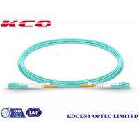 China MM OM4 100G 10 Meter Fiber Optic Cable LC Switchable Uniboot 2 Cores on sale