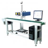 China Porcelain Black Marks CO2 Laser Marking Machine For Chassis Easy To Operate wholesale
