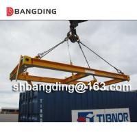 China Heavy Duty Semi-automatic Container Lifting Spreader on sale