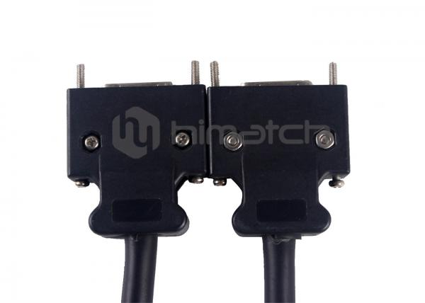 Quality Black 26 Pin Camera Cable MDR 26 Pin Male To MDR 26 Pin For Camera Link for sale