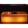 China Illuminated Led Lighting Belvedere Vodka Bottle Ice Bucket With CE Certificate wholesale