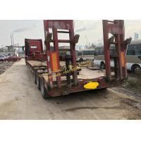China Heavy Duty Used Construction Machinery HOWO Truck Tractor With Flatbed Trailer Transportation wholesale