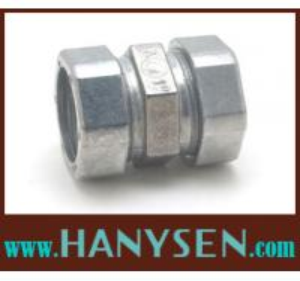 China Zinc Compression EMT Coupling compressing coupling on sale