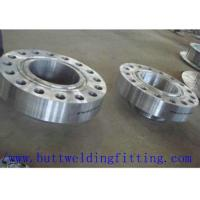 China Steel Weld Neck Flange ASTM A 182 Stainless Steel WNRF Pipe Flange wholesale