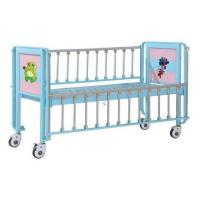 Children Patient Bed , Pediatric Bed With Enameled Steel Side Rails