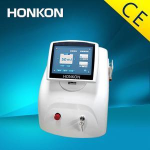 China El laser blanco del diodo del color 980nm de HONKON para el retiro vascular y la araña vetea la máquina wholesale