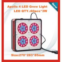 China Red color 180W LED grow light with fans for strengthening cooling wholesale