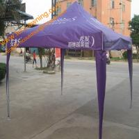 China Logo Printing 3x3m Folding Tent for Sale Steel Frame Promotion  Pop up Tents wholesale