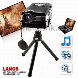 China Mini Multimedia Pocket Projector Ly188 (VGA+AV+2GB) wholesale