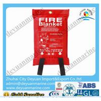 China Euro Standard Marine Fire Fighting Equipment EN1869 Fire Blanket Fast Installation wholesale