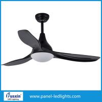 China 12 W 3 Leaves Led Fan Lights , High Power White Ceiling Fan With Led Light wholesale