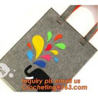 China Cute fashion designer felt tote bag, reusable felt leisure handbags fashionable, felt clutch bag promotional convenient wholesale