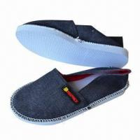 China Men's Casual Shoes, Made of PE Sole, with Canvas Upper, Various Colors are Available on sale