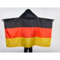 China Brazil Football Flag Cape World Cup Theme Polyester Body Flags For Soccer Event wholesale