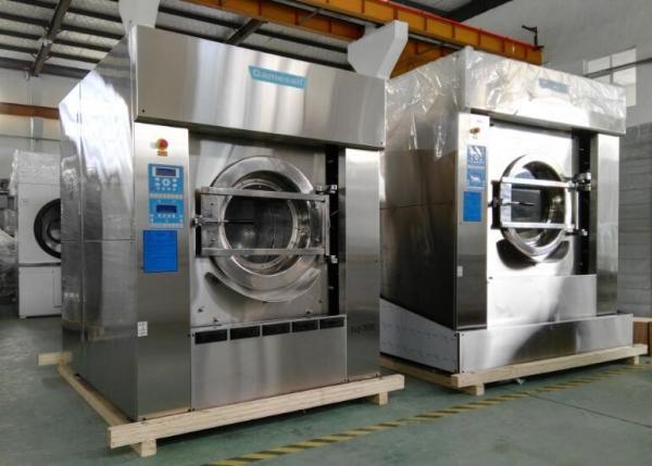 Quality Máquinas de lavar e secadores comerciais de Auotomatic, máquina de lavar industrial montada e secador for sale