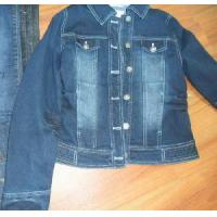 China Girl Denim Jacket Approved by ISO2001 Certificate wholesale