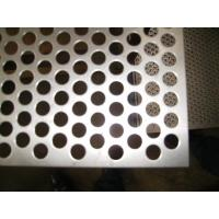 China Stainless Steel Perforated Metal Sheet/Galvanized Steel / Aluminum / , Hole Dia 0.84mm wholesale