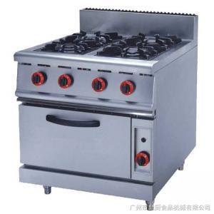 Buy cheap Queimador de gás de aço inoxidável do png dos equipamentos 4.8KW da cozinha de JUSTA ZH-RQ-4 com forno from wholesalers